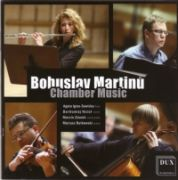 CHAMBER MUSIC <b>• Sonata for Flute, Violin and Piano, H 254 • Sonata for Flute and Piano, H 306 • Madrigal Sonata for Flute, Violin and Piano, H 291 • Trio for Flute, Cello and Piano, H 300</b>, recorded in 2010 / DUX Recording Producers, DUX 0768, 2010
