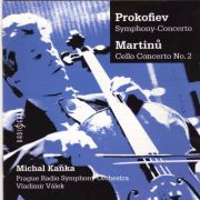 MICHAL KAŇKA (Martinů, Prokofiev) <b>• Concerto for violoncello and orchestra No. 2, H 304</b>, Michal Kaňka - <i>violoncello</i>, Prague Radio Symphony Orchestra, cond. Vladimír Válek, recorded in 1999 and 2005 / Radioservis, DDD, CR0368-2, 2007