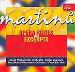 OPERA SUITES AND EXCERPTS <b> • Orchestral suite from Juliette, H 253 B • Commedia dell'arte, H 251 A • Little Suite, H 247 A • The Departure, H 175 A and more…</b> Czech Philharmonic, cond. V. Neumann, Brno State Philharmonic Orchestra, cond. F. Jílek