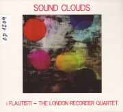 Sound Clouds. i Flautisti - The London Recorder Quartet. Martinů: Divertimento pro dvě zobcové flétny. Daniell Jalowiecka, Jitka Konečná (zobcové flétny). Nahráno 2012.