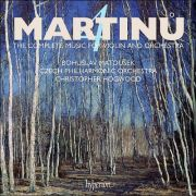 Martinů: The complete music for violin and orchestra. Bohuslav Matoušek (housle), Česká filharmonie, Christopher Hogwood (dirigent). Hyperion Records, 2019.